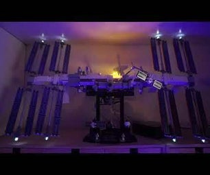 LEGO ISS 21321 DIY智能照明