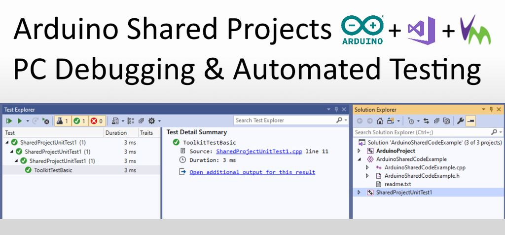 Picture of Arduino Shared Project: PC Debugging and Automated Testing