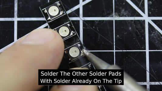 Assembling the LED Side