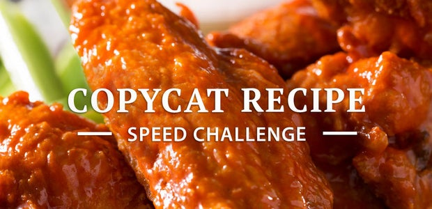 Copycat Recipe Speed Challenge