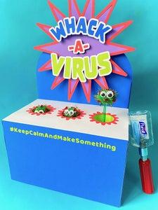 Whack-A-Virus DIY Game #KeepCalmAndMakeSomething