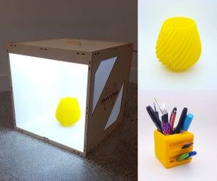照片Ligthbox  - 激光切割机