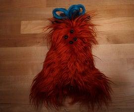 毛绒玩具(手工缝制)