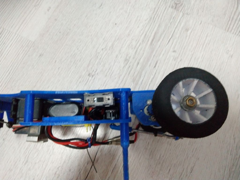 Picture of The Upper Part of the Chassis.
