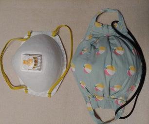 n95风格面料口罩