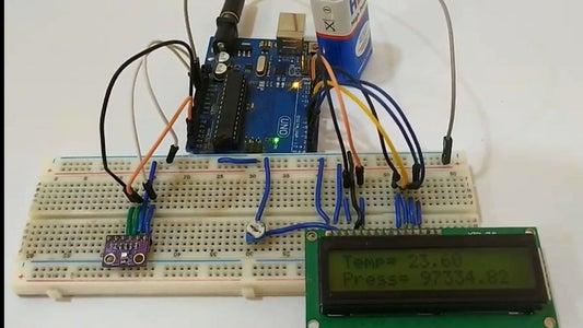 Testing the Pressure Sensor