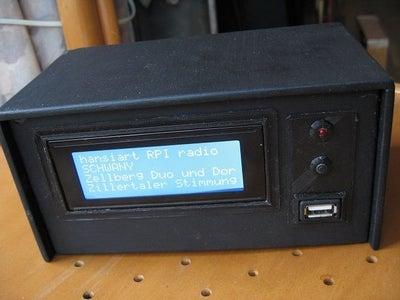 RASPBERRY ZERO INTERNET RADIO