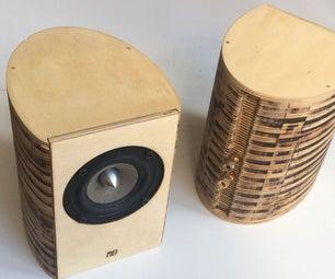 Lasercut Speaker Cabinet