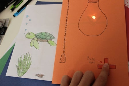 Paper Circuits (Ages 7 - 9): Action!