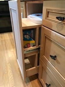 Cabinet for Kitchen Trash Barrel
