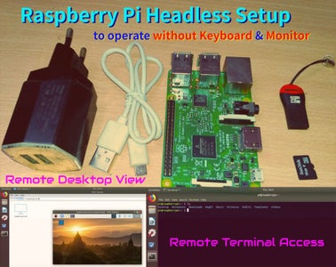 Raspberry Pi Headless Setup Without Extra Keyboard and Screen