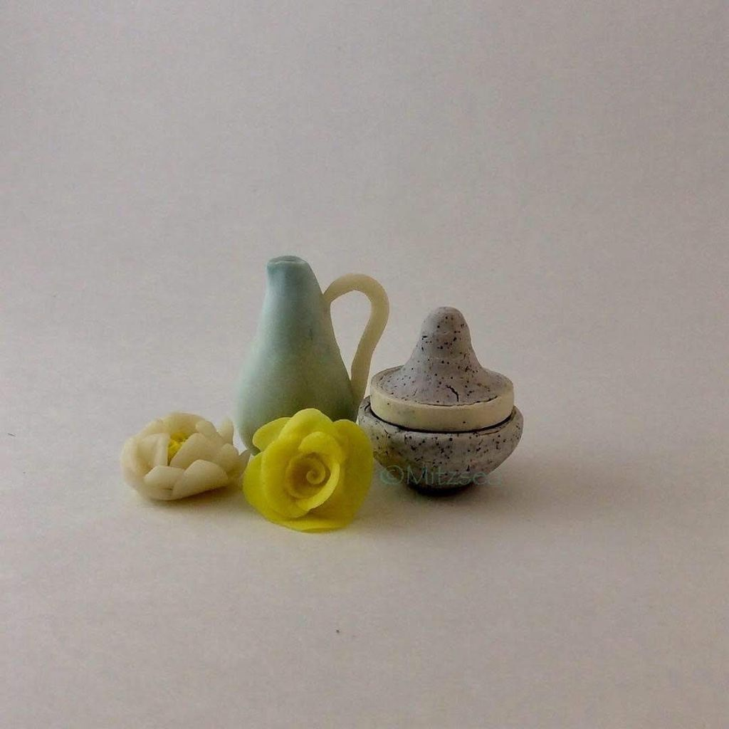Picture of Mitzsea Makes' Mash-up of a Cold Porcelain Recipe