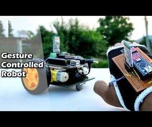 使一个手势控制机器人最简单的方法