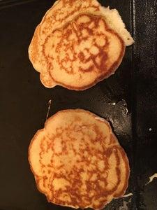 Sourdough Snow Pancakes Variation
