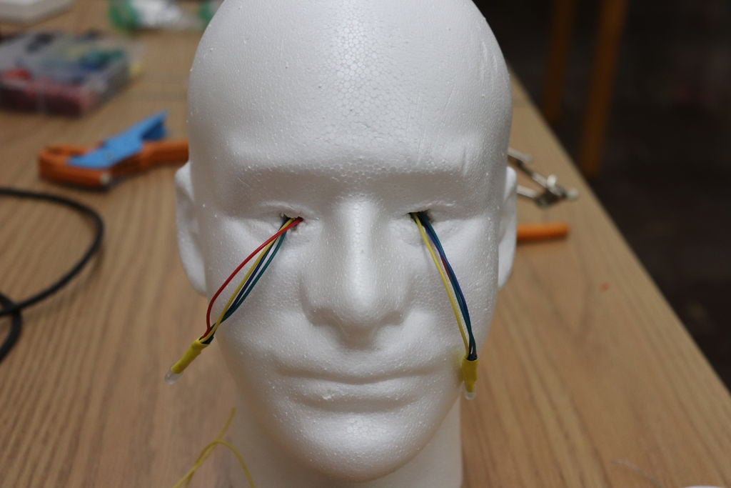 Picture of Prepare the Head and Eyes