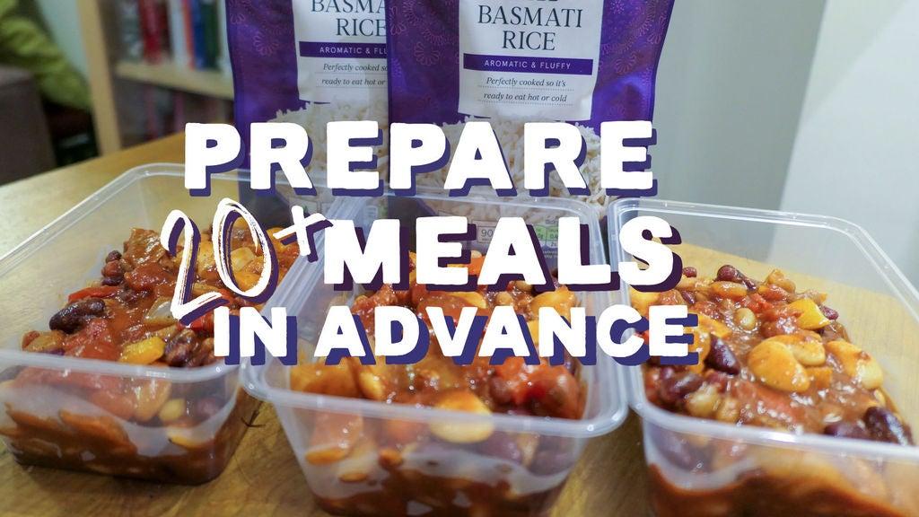 Picture of Prepare 20+ Meals in Advance