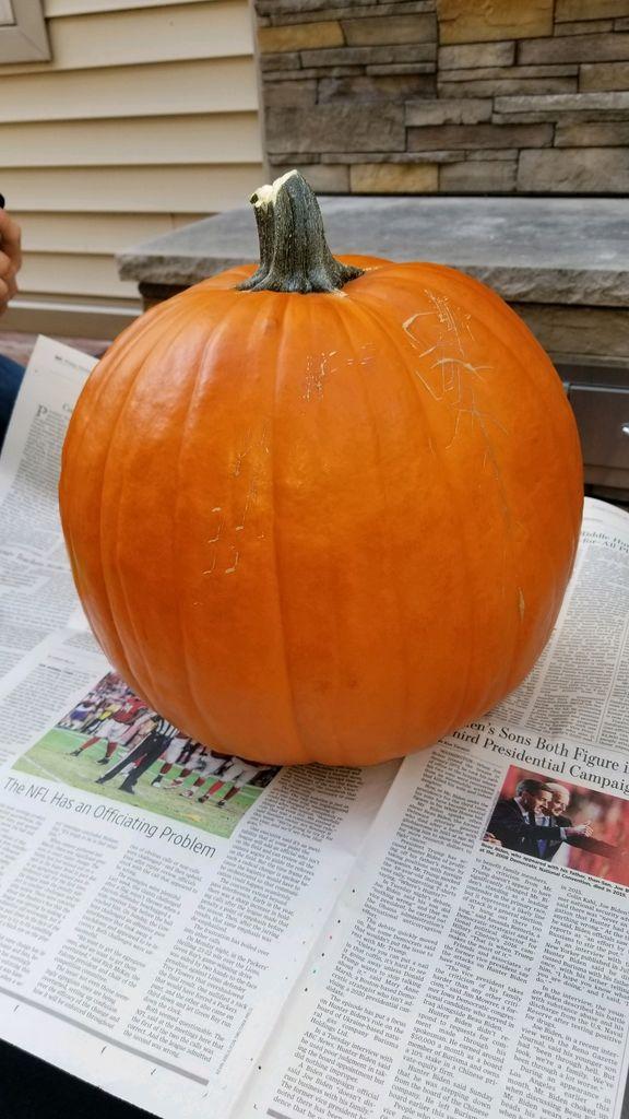 Picture of The Pumpkin Head Prop