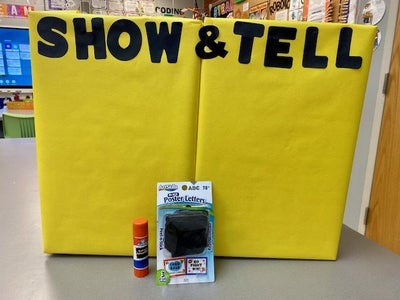 Add the 'Show & Tell' Letters