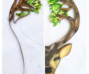 Oh Deer! One Year Paper Quilling Project