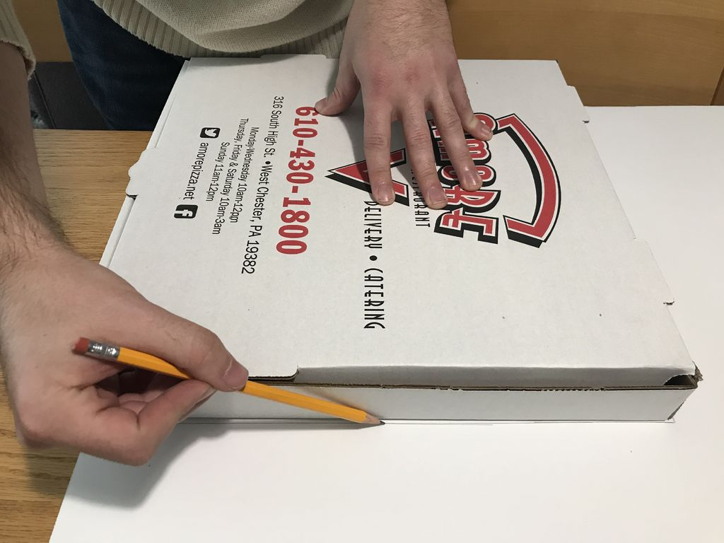 Picture of Prepare the Pizza Box