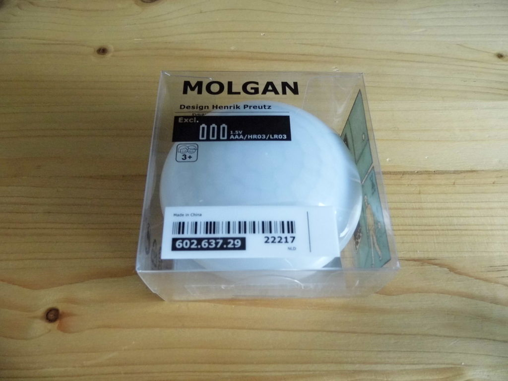 Picture of IkeaHack: MOLGAN LED Light