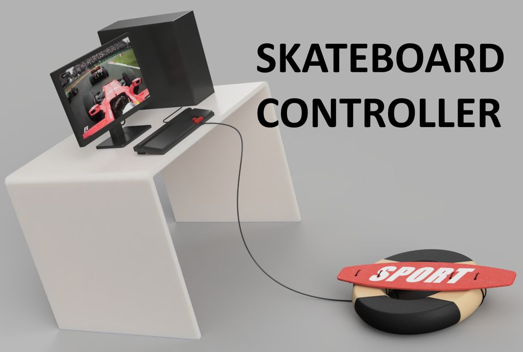 Picture of Skateboard Controller