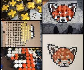 Bottle Caps Pixel Art