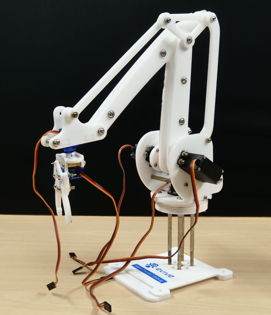 Picture of Computer-Controlled Robotic Arm