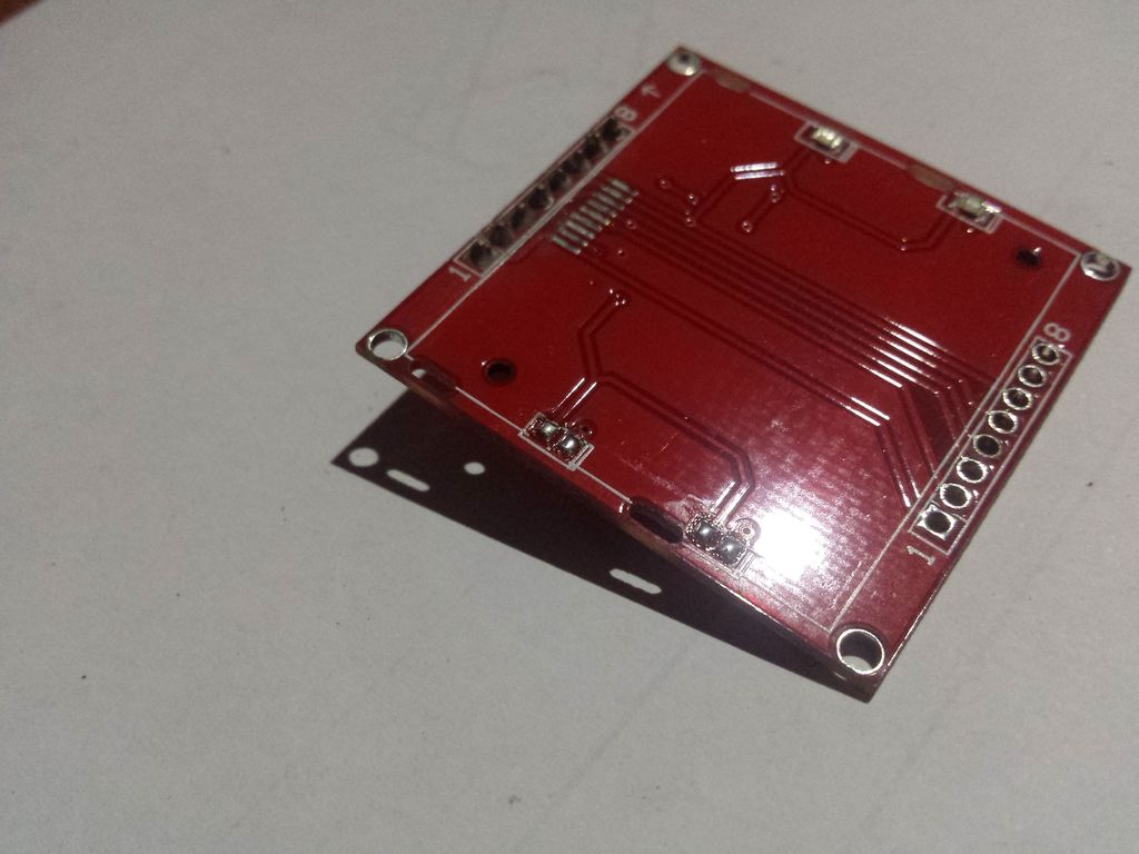 Picture of Module & Soldering New LEDs