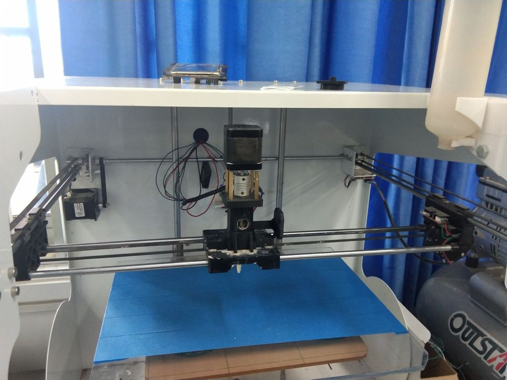 Picture of Rapid Prototyping System for Printing Clay Slurry