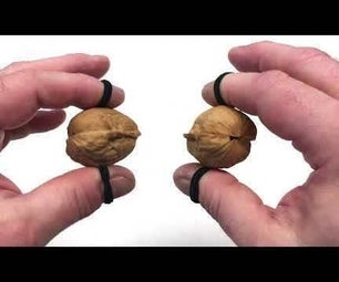 Walnut Clackers Sound Like Miniature Horses