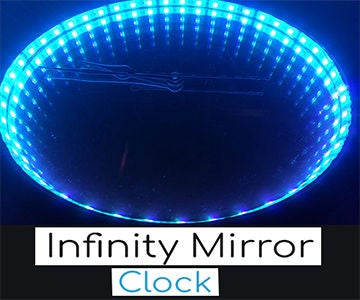 Easy DIY Infinity Mirror Clock