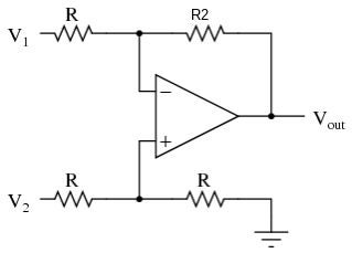 Picture of Differential Op-amp