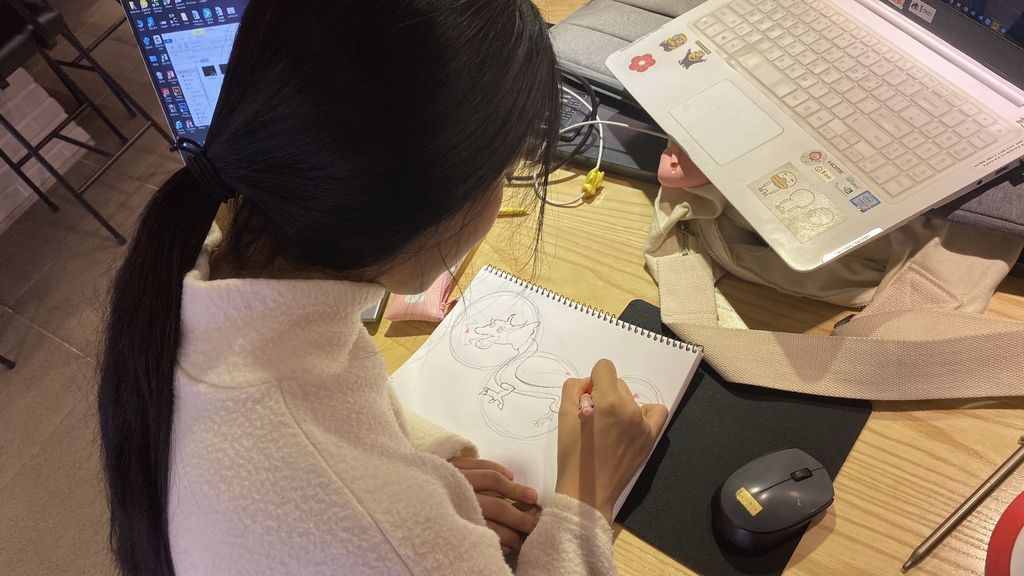 Picture of Sketching  Final Images and Concepts