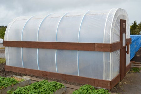 DIY POLYTUNNEL / GREENHOUSE