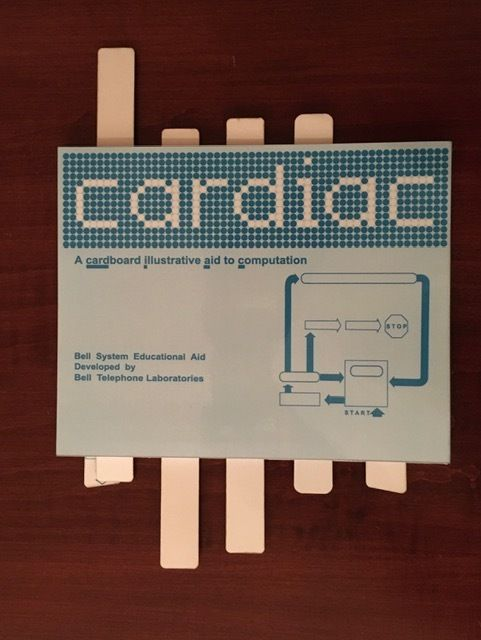 Picture of CARDIAC (CARDboard Illustrative Aid to Computation) Replica