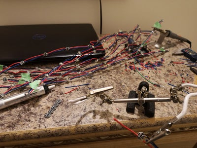 Solder / Cut Your LEDs.