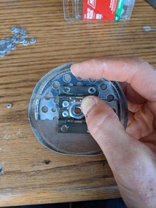 Riveting the Plunger Base