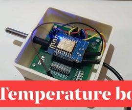 DS18B20 Temperature Sensor Box