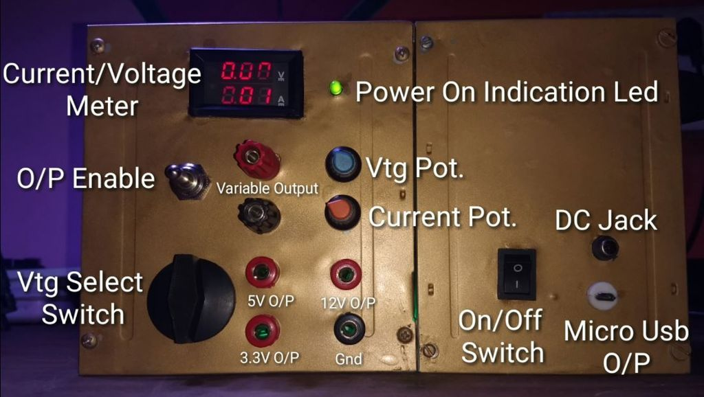 Picture of Final Power Supply