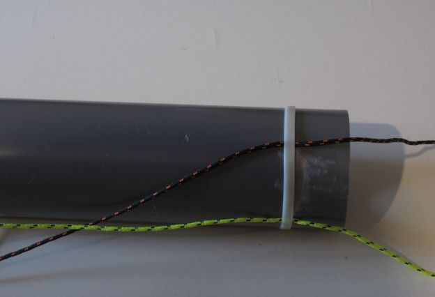 Picture of Attach Lateral Loops Two Lower End of the Body Tube