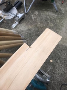 Cutting & Drilling the Wall-Mounted Ladder