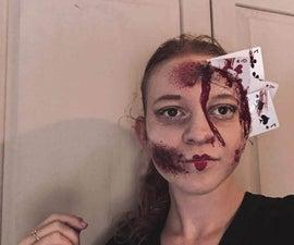 Alice in Wonderland Horror Make-up
