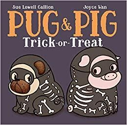 Picture of Pug & Pig: Glow in the Dark Skeleton Costume