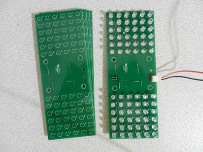 Figure 7: the First Prototype of the Flasher Board