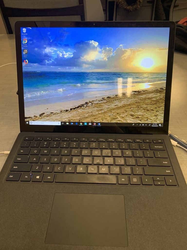 Picture of Open Laptop
