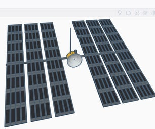 Design a Space Satellite in Tinkercad