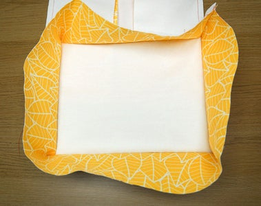 Sew the Fabric Pieces Together