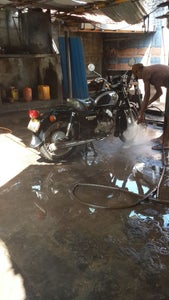 Removing Unnecessary Parts and Wash the Bike