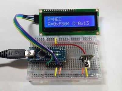 IR Remote Analyzer / Receiver With Arduino